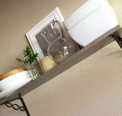 dinning room shelf