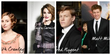 Downton Abby Collage