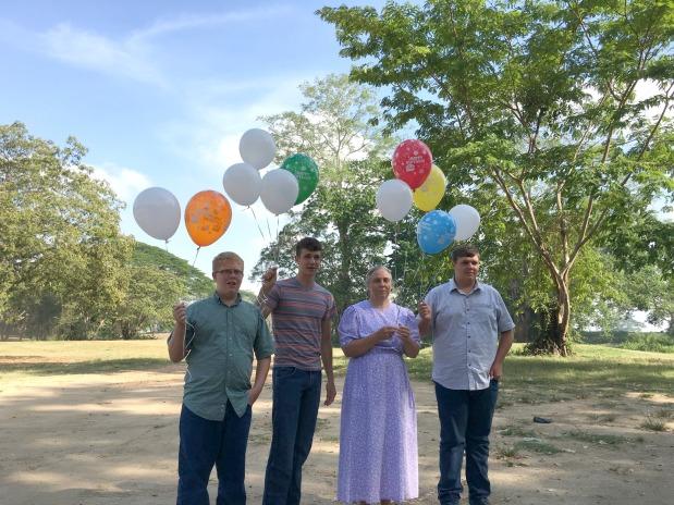 Norma boys balloons